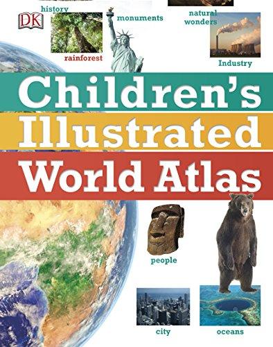 Children's Illustrated World Atlas (Childrens Atlas) Hardcover – 6 Jul 2017 £6 Prime @ Amazon