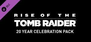 Rise of the Tomb Raider 20 Year Celebration Pack (VR support added for htc vive & oculus rift on blood ties) £3.49 @ steam