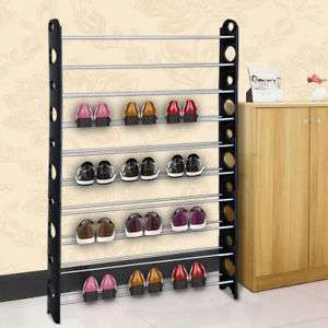 50 pair Shoe Rack, £4.99 Ebay UK /  sien2014uk