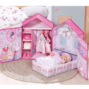 Baby Annabell bedroom £31.99 Argos
