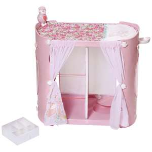 Baby Annabell 2in1 changing table and wardrobe £21.99 Argos