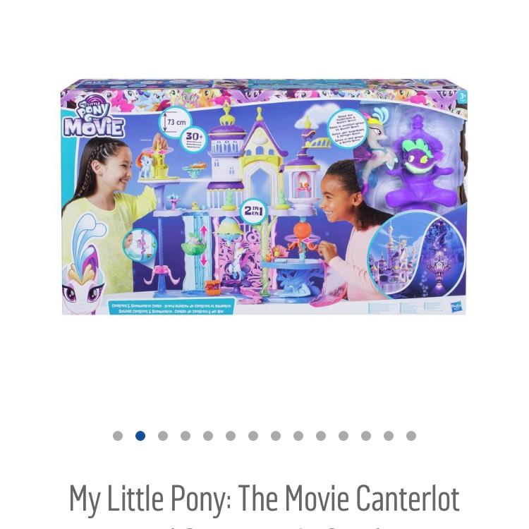 My little pony seaquestria castle £32.99 argos