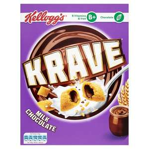 Kellogg's Krave 375g Chocolate £1.39 at Tesco instore