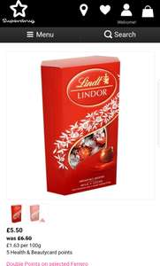 Lindt Lindor Milk Chocolate 337g £4.95 with Student Discount at Superdrug