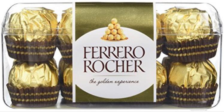16 Ferreror Rocher (Pack of 5, Total 80 pieces)  - £15.99  (Prime) / £20.74 (non Prime) at Amazon