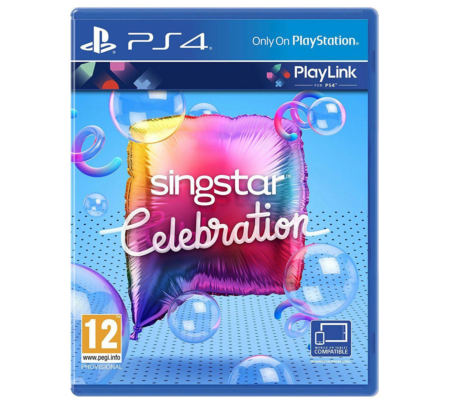 SingStar Celebration PS4 £9.99 del @ Shopto eBay outlet
