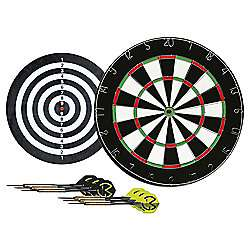 Michael Van Gerwen Flock Dart Board + 2 Sets of Darts was £20 now £10 instore / C+C (now oos online) @ Tesco Direct (Hypro 20 inch Table Air Hockey was £20 now £10 + more in OP)