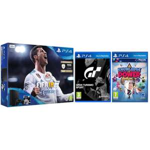 Sony PlayStation 4 Slim 500GB With FIFA 18, GT Sport & Knowledge Is Power £199.99 @ Zavvi