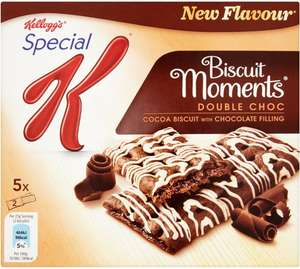 Kellogg's Special K Biscuit Moments Chocolate / Duo / Black Forest / Strawberry / Blueberry (5 x 25g) Normal price £1.99 but until Tuesday December 26th Buy any 1 add 1 free and of course there's the usual mix and match available @ Ocado