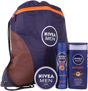 Nivea Men Sports Plus Gift Set for Men - £8.85 (Prime) £13.60 (Non Prime)  from Amazon!