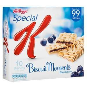 Special K Biscuit Moments Blueberry 10 Pack ONLY £1.00 @ Poundland