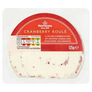 Morrisons Cranberry Roule 125g for 50p misprice