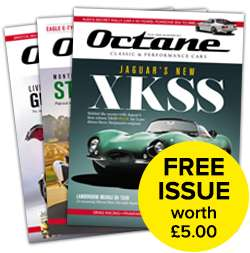 Claim a free issue of Octane magazine for free! Worth £5!