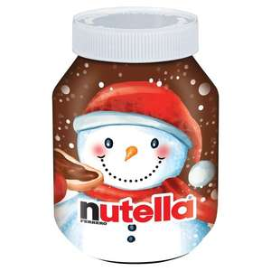 Nutella Christmas Edition 750g £2.64 with Waitrose PYO