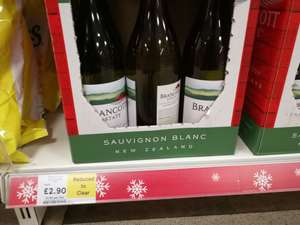 Bancott Estate Marlborough Sauvignon Blanc £2.90 Tesco instore