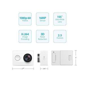 YI WiFi Action Sport Camera + Selfie Stick and Bluetooth Remote - White £46.99 Sold by YI Official Store UK and Fulfilled by Amazon - lightning deal