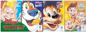 Kellogg's Cereals Variety Pack (8) was £2.00 now £1.00 @ Iceland