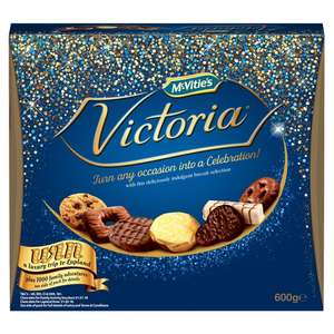 Mcvities Victoria  Biscuit Selection 600g £3.00 @ Morrisons