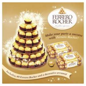 Ferrero Rocher 60 piece Pyramid £15 @ Asda