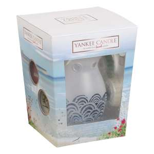 Yankee Candle Coastal Living Melt Warmer Gift Set - £12.50 (Prime) / £17.25 (non Prime) at Amazon