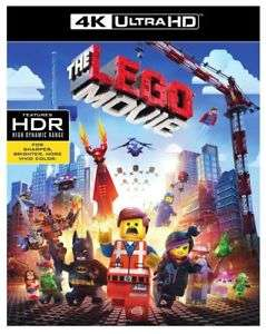 The Lego Movie Blu Ray 4K - £4.99 - eBay/BossDeals