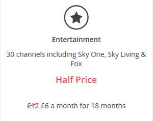 TalkTalk TV Entertainment Boost Now £6 a Month For 18 Months @ TalkTalk
