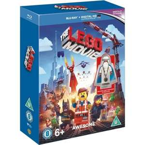 Lego Movie Minifigure Edition Blu-ray + Digital HD UV £5.99 Delivered @ 365games