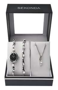 Sekonda Women's Watch, Bracelet and Pendant gift set - Only £25.99 delivered from Amazon!