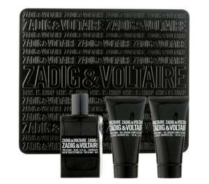 Zadig & Voltaire This is Him! Be Rock! Gift Set - 50ml EDT + 2x 50ml Shower Gels £26.95 @ Fragrance Direct