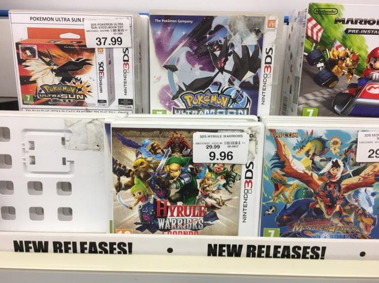 Hyrule Warriors Legends 3DS - £9.96 instore @ Toysrus - Kent