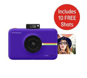 Polaroid Snap Touch Instant Print Cameras LCD Screen - Inc. 10 Free Shots (Black, Purple, Pink or White) now £119.99 at Argos