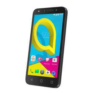 "Alcatel U5 4G Cocoa Grey 5"" 8GB 4G Unlocked & SIM Free - Dual Sim - £68 delivered @ Debenhams Plus"