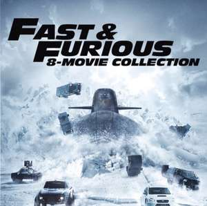 Fast & Furious: 8-movie HD Collection, FF8 in 4K, ITunes Xmas deal