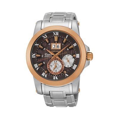 Seiko Novak Djokovic Special Edition Premier Kinetic Perpetual Watch, £247.50 from Debenhams
