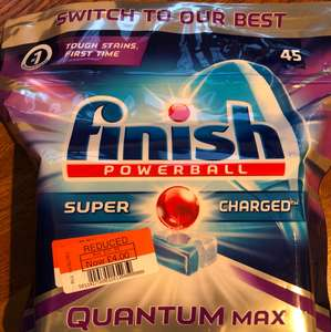 Finish Powerball Quantum Max £4 at local Co-op