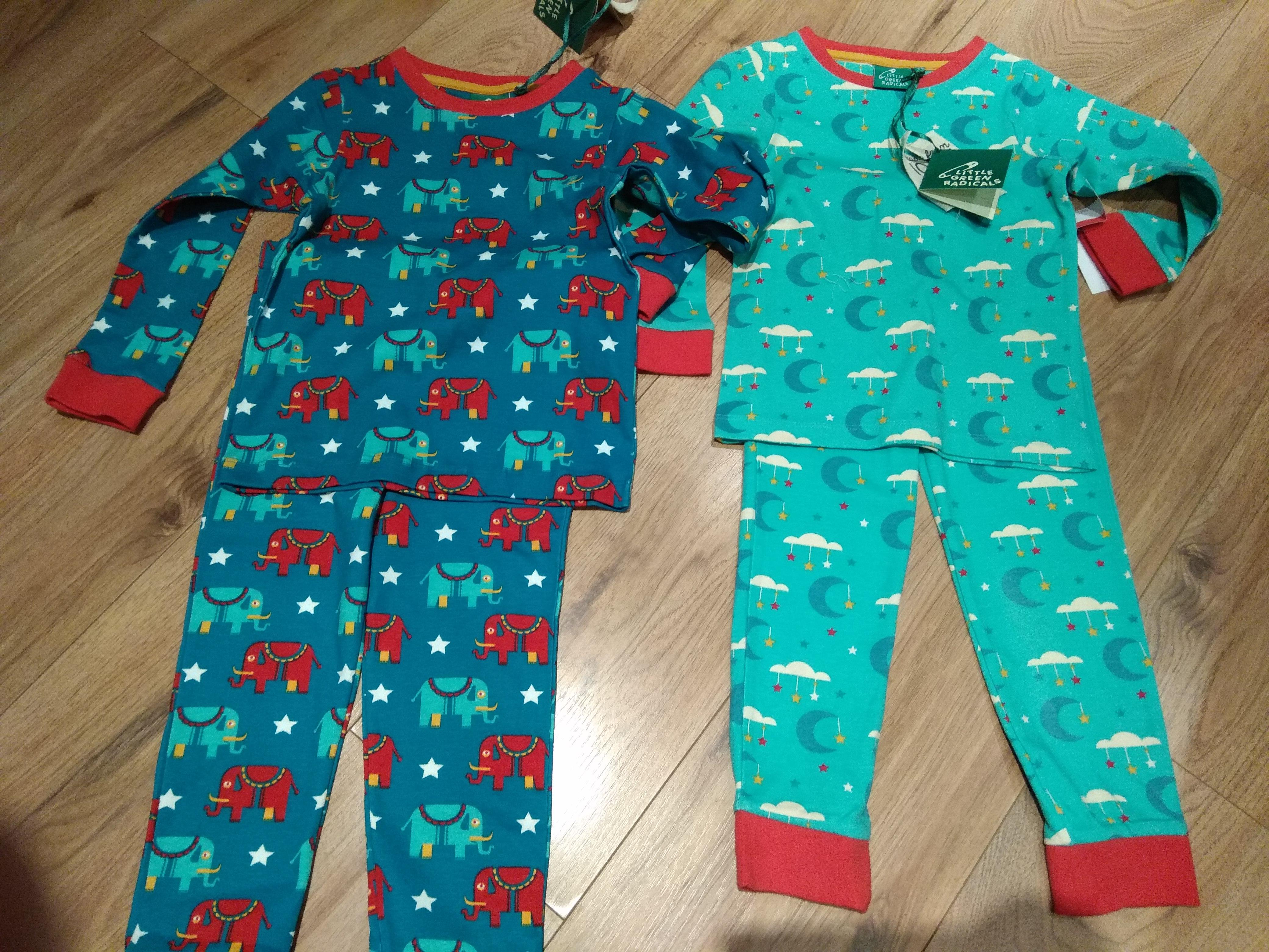 TK Maxx Little Green Radicals Kids Organic Cotton Pyjamas £9.99
