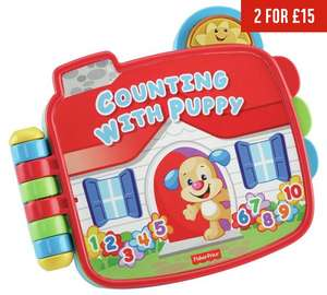 Fisher-Price Laugh & Learn Counting with Puppy Book £5.50 @ Argos