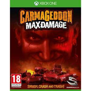 Carmageddon: Max Damage £6.95 XBOX ONE