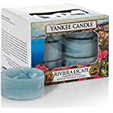 Yankee Candle Tea Light Candles Riviera Escape or My Serenity £3.69 Amazon prime / £7.69 non prime