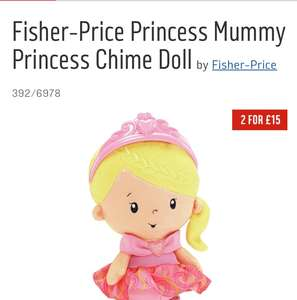 Fisher-Price Princess Mummy Princess Chime Doll £5.50 @ Argos 392/6978