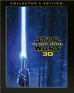 STAR WARS: THE FORCE AWAKENS 3D COLLECTOR'S EDITION BLU-RAY - £10.79 @ Zavvi