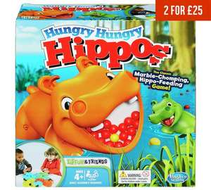 Hungry Hungry Hippos £9.99 @ Argos