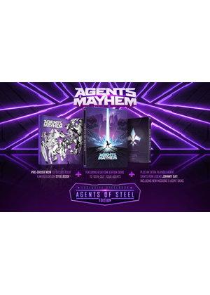 Agents of Mayhem Steelbook Edition (Xbox One) @ Base - £9.99