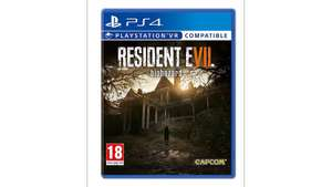 Resident Evil 7 : Biohazard - PS4 & Xbox One - £15 free home/store delivery @ Tesco