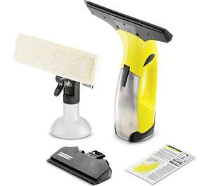 KARCHER WV2 Premium Window Vaccum Cleaner - Yellow Save £40.99 Was £79.99, now £39 @ Currys