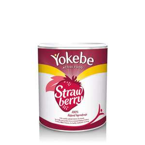 6x 450g tins of Yokebe Active Food Strawberry for £35.07 (normally £12.99 each) with stacking promotions @ Superdrug