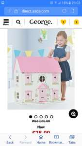 George wooden dolls house £28