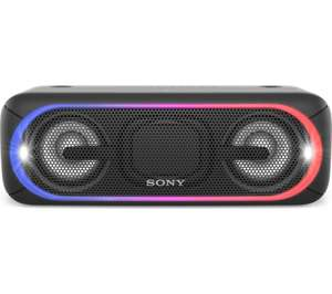 SONY EXTRA BASS SRS-XB40 Portable Bluetooth Wireless Speaker - Black £129 Currys