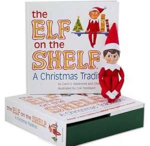 Elf on the shelf £22 and in the 3 for 2 offer WHSmiths instore