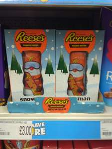 Reese's pieces Large peanut butter Snowman £3 @ Poundworld